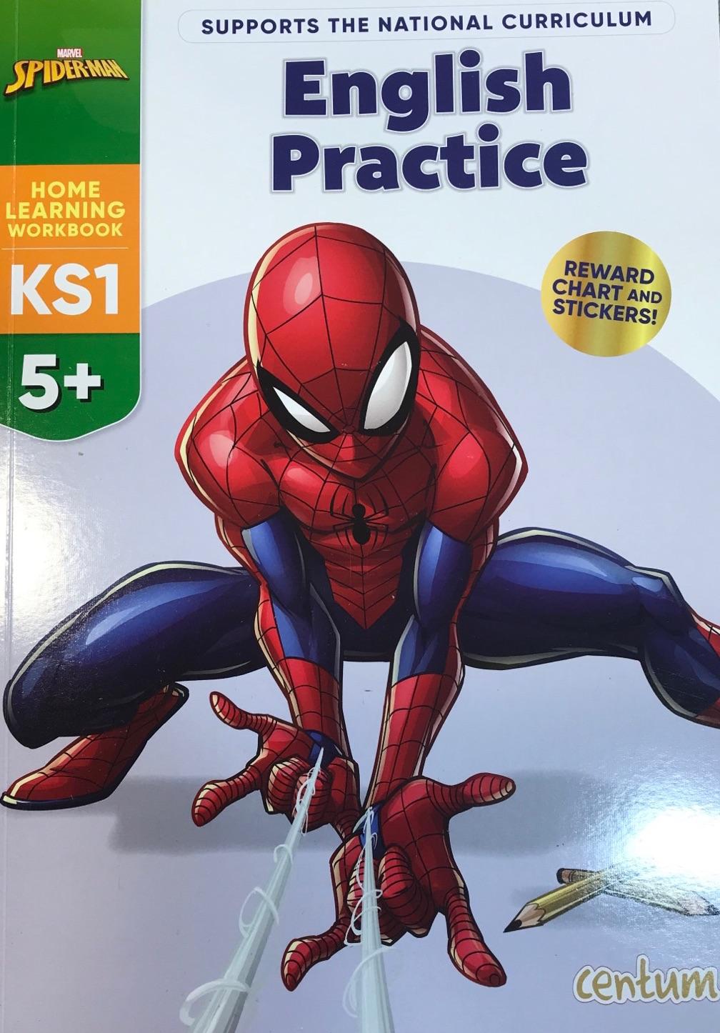 English Practice 5+ Spiderman