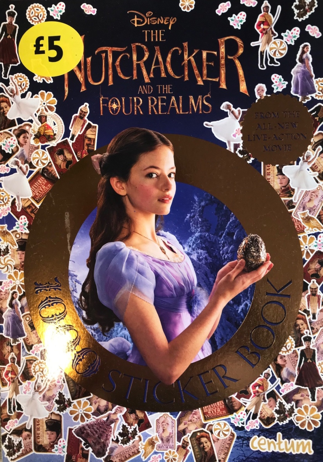 The Nutcracker And The Four Realms 1000 Stickers