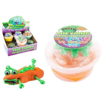 Bouncing Putty with Body Parts