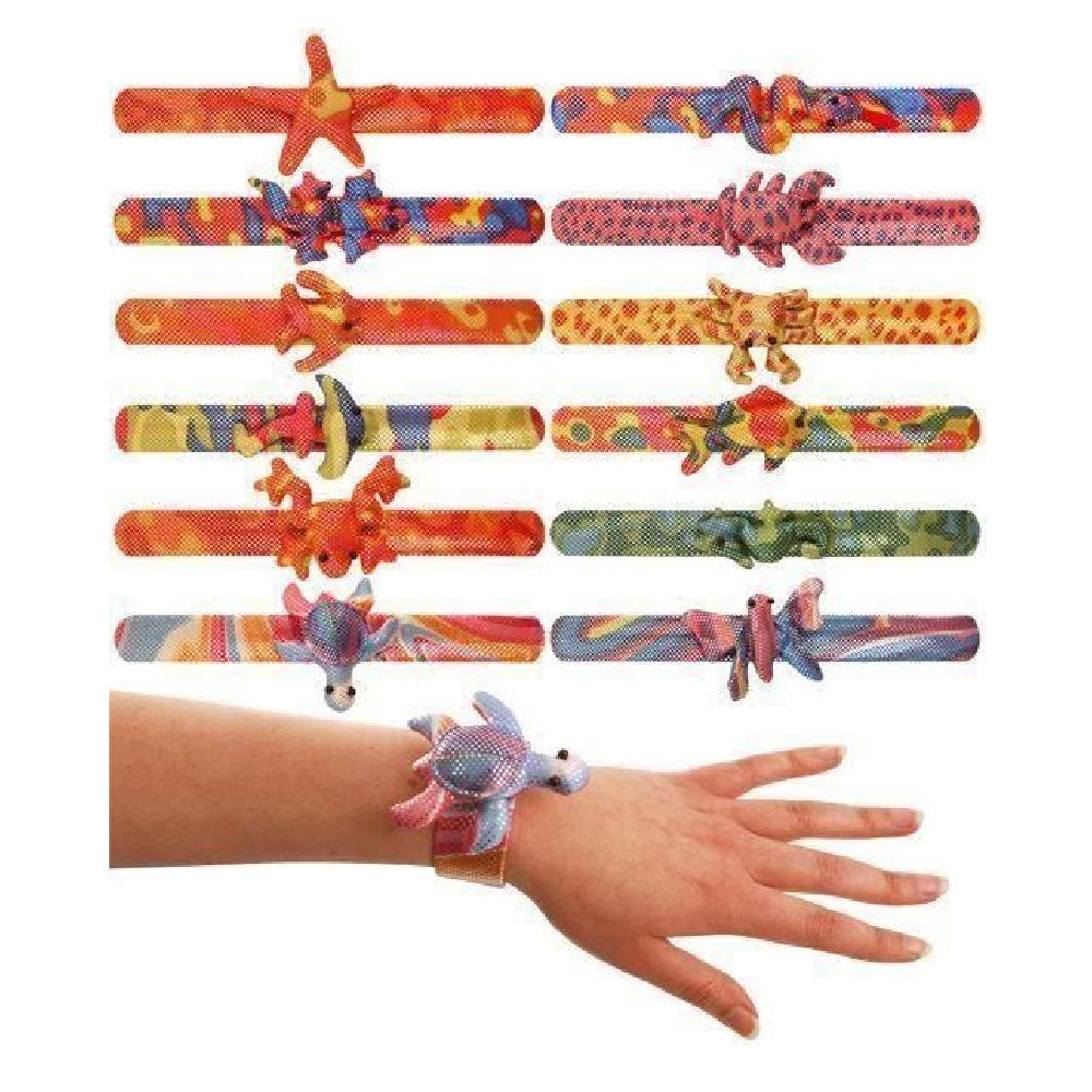 Sand Filled Animal Snap On Bracelet