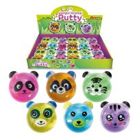Animal Face Putty Tub