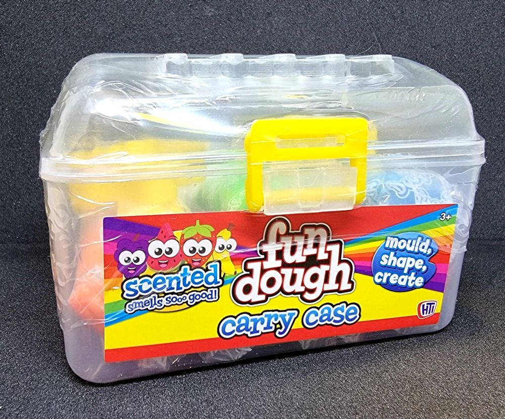 Scented fun dough