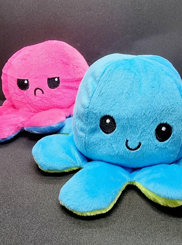 Reversible Happy/Sad Octopus