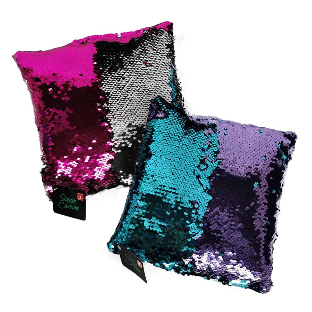 Colour Swap Mini Sequin Cushion