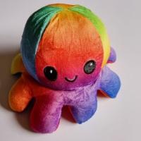 Reversible Happy/Sad Octopus Rainbow