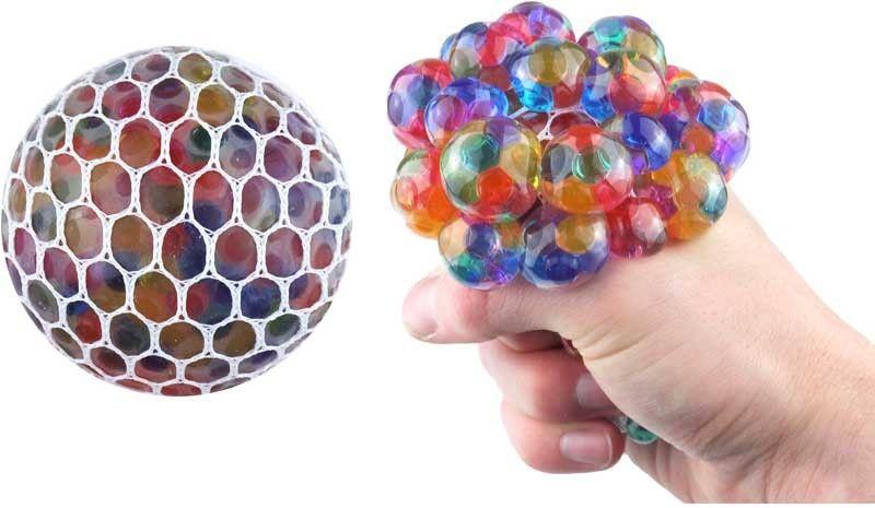 Mini Rainbow Mesh Ball