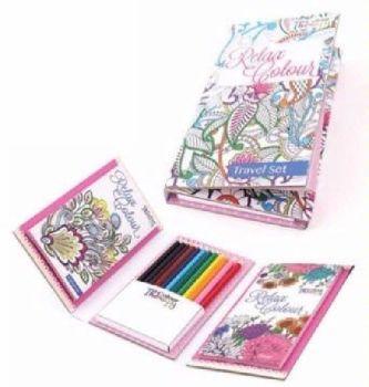 Travel Colouring Set