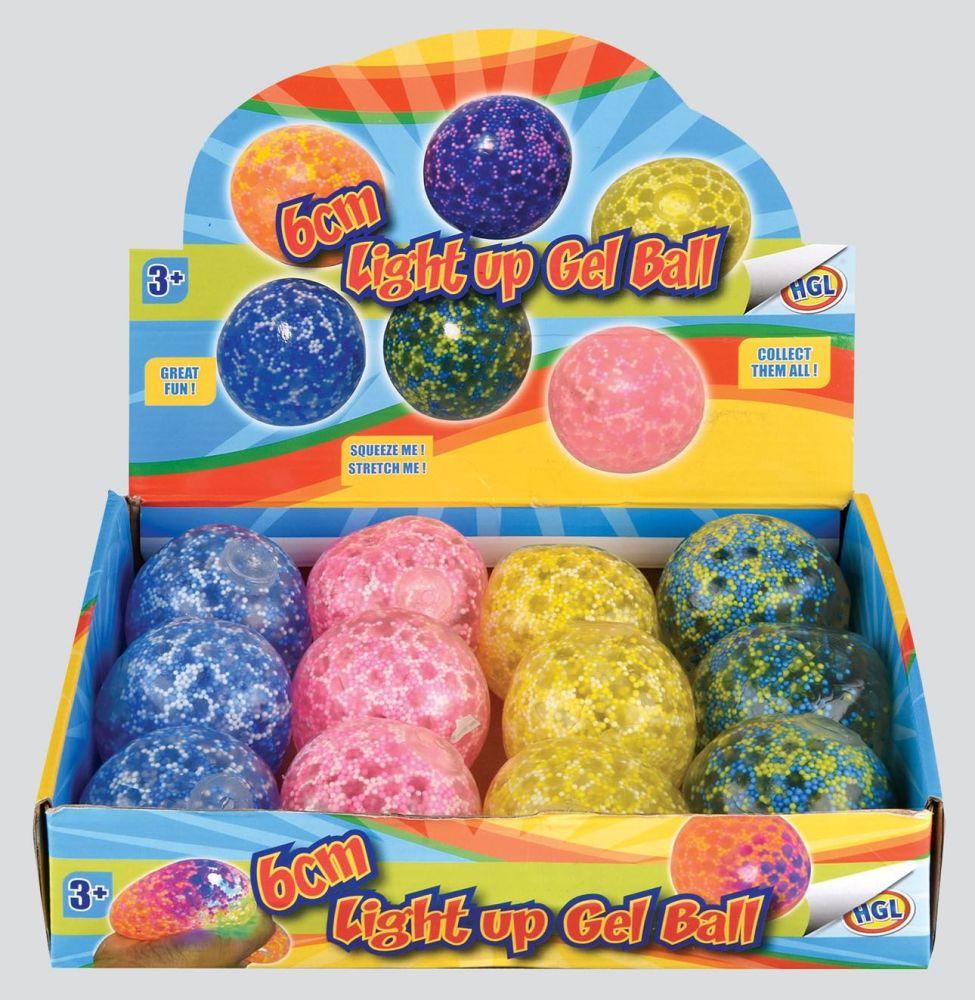 Light-Up Gel Squishy Stress Ball
