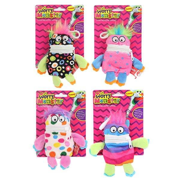 Worry Monster Clip On