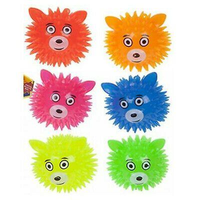 Light Up Spikey Animal Face Ball