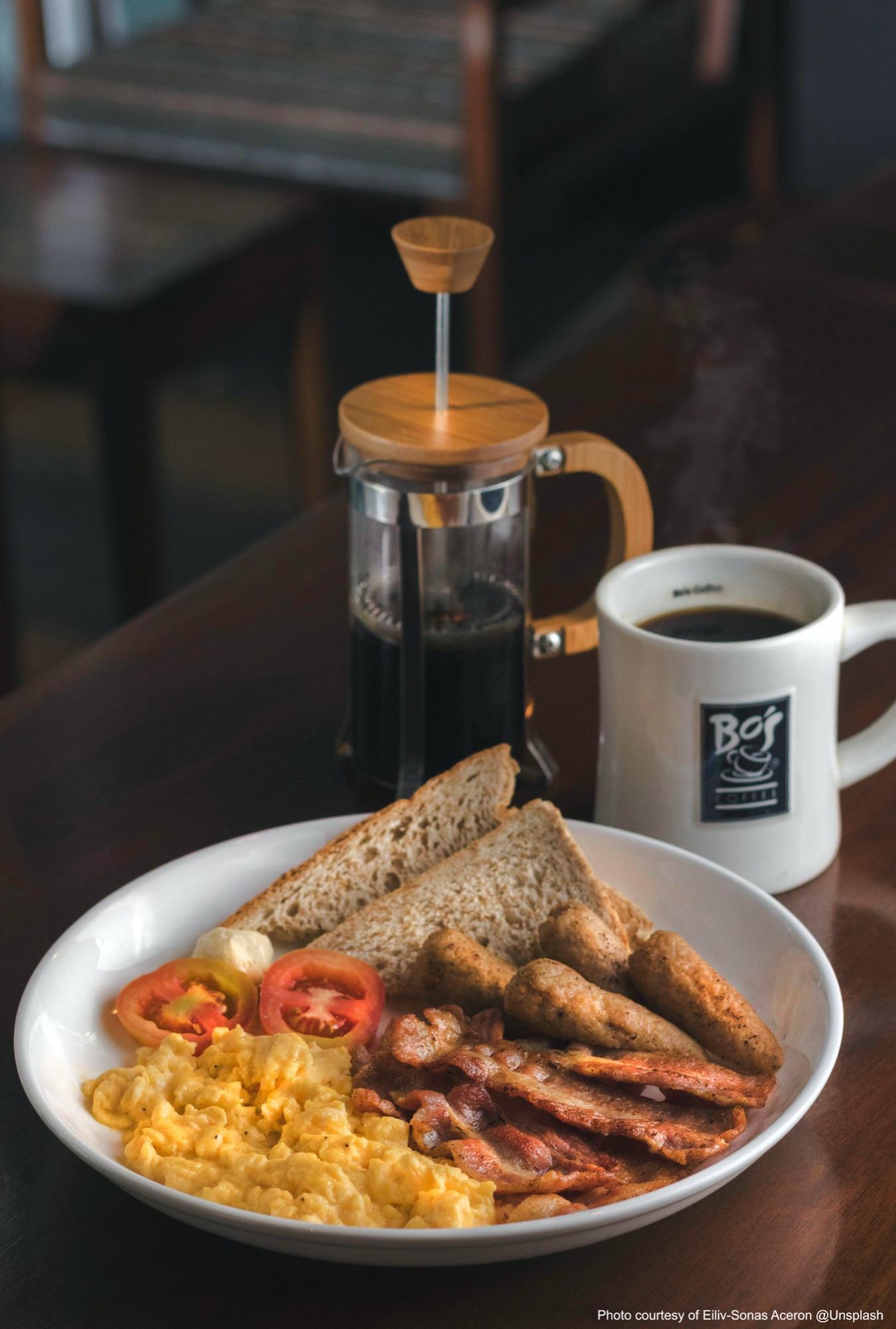 Cooked breakfast by Eiliv-Sonas Aceron on Unsplash
