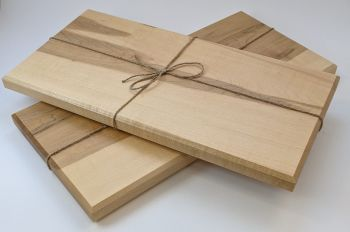 Maple edge grain board