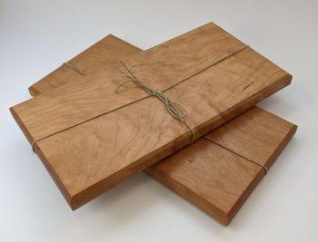 Cherry edge grain board
