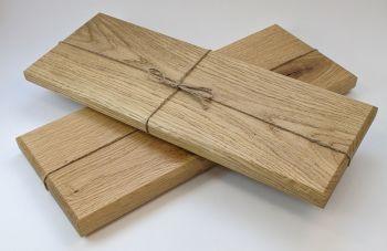 Oak edge grain board