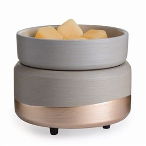 Chunky Grey & Rose Gold Electric Wax Melter