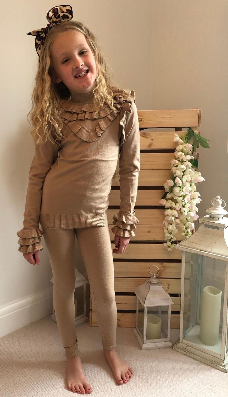 Knitted 'Ruffle' Loungewear