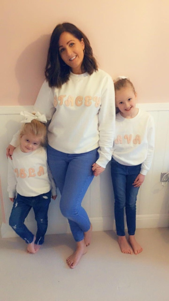 Girls Personalised Sweatshirt