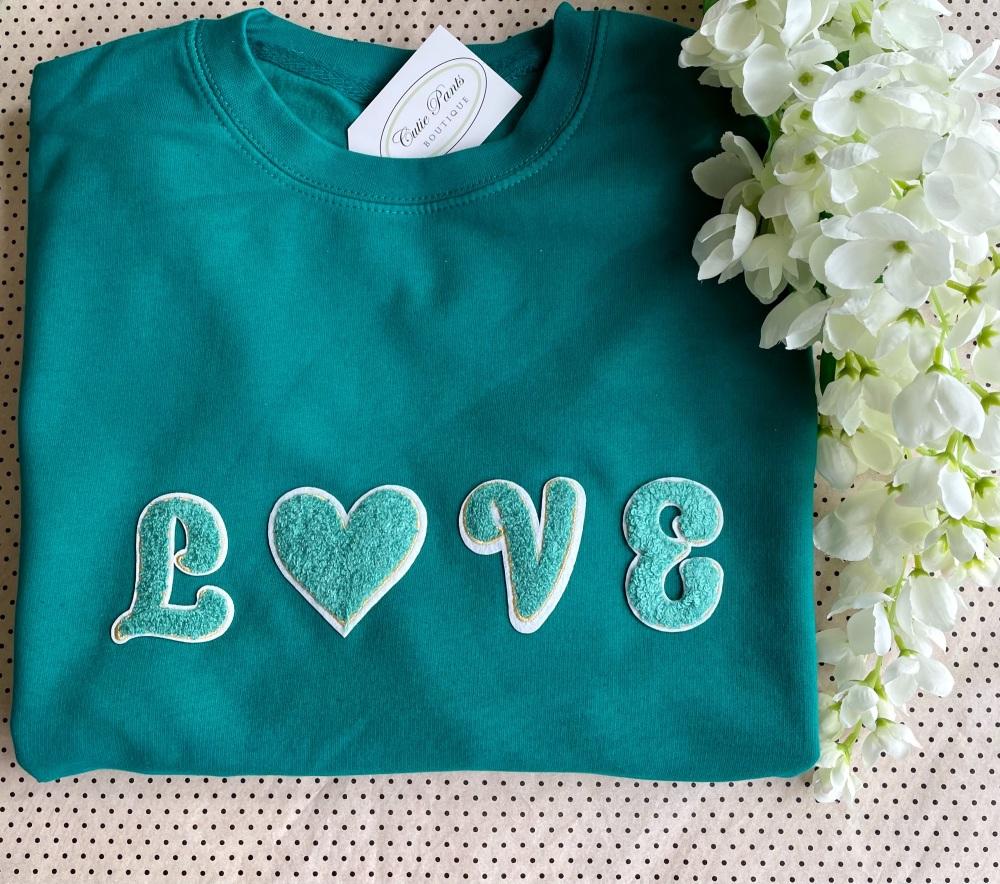 LOVE sweatshirt - Green