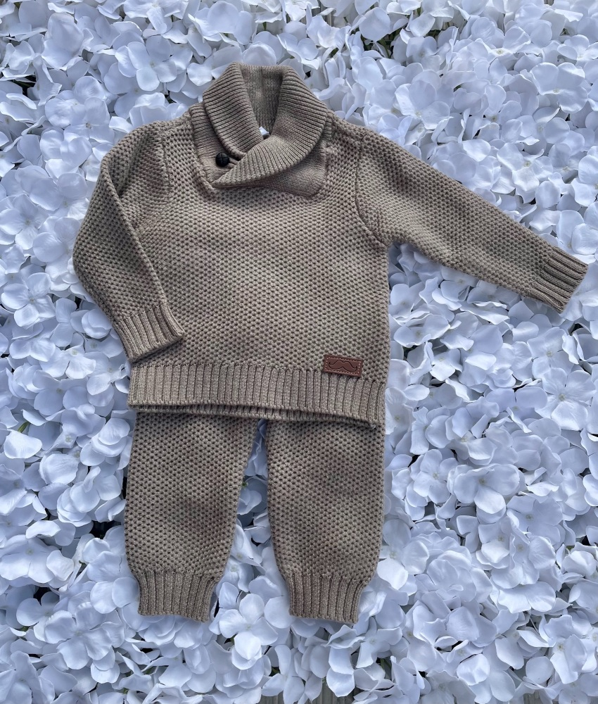 'The Isaac' Knitted suit