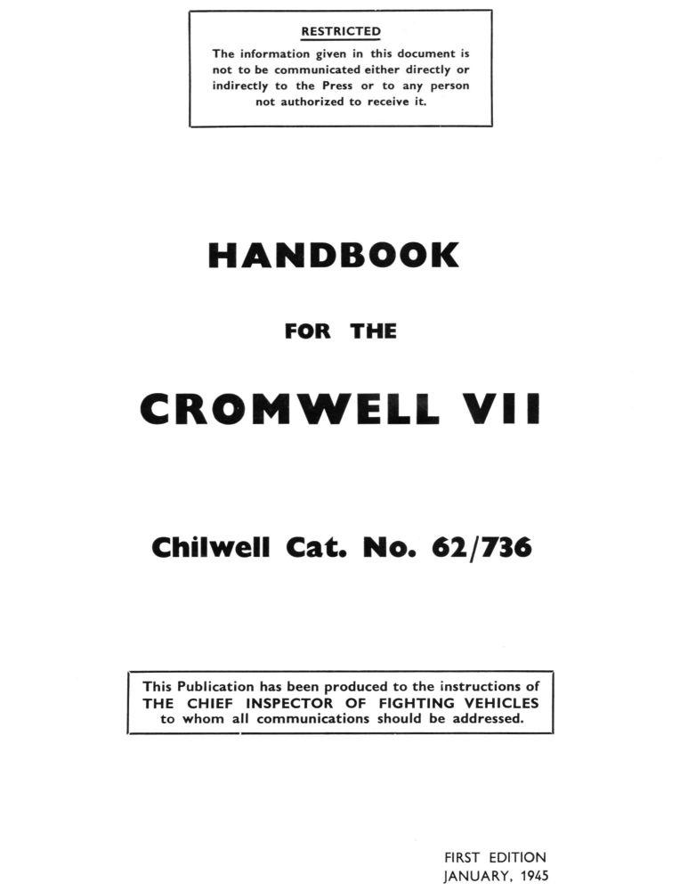 Cromwell VII Handbook