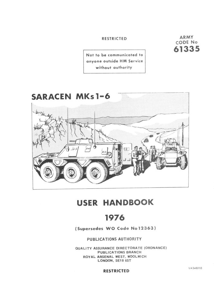 Saracen Mk 1-6 User Handbook