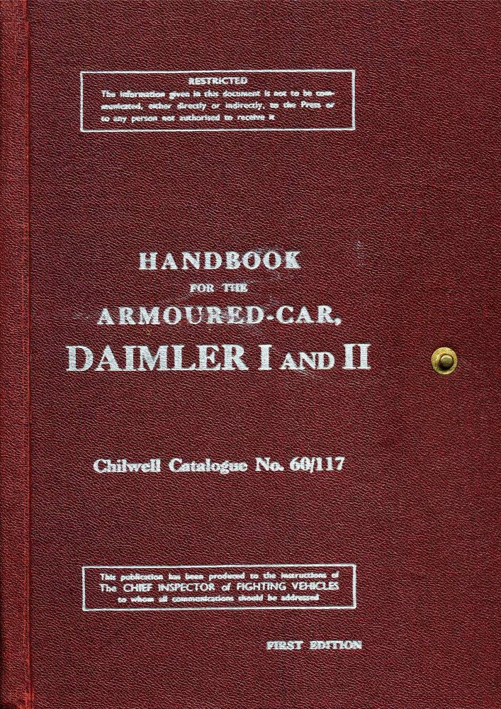 Daimler Armoured Car I & II Handbook