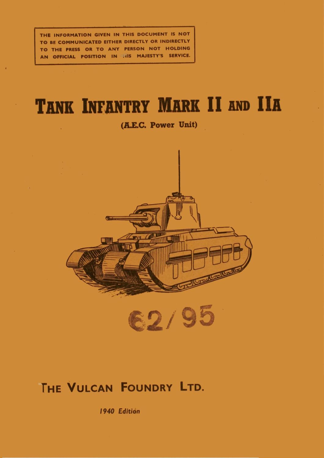 Matilda Mk II & IIA Instruction Book