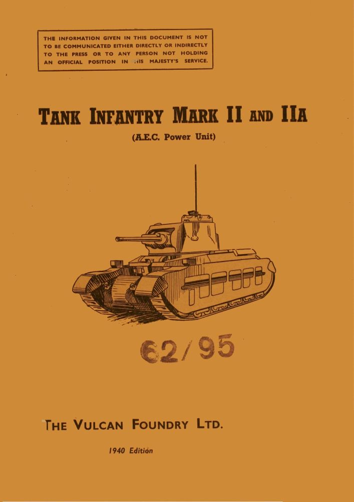 Matilda Mk II & IIA (A12) Instruction Book