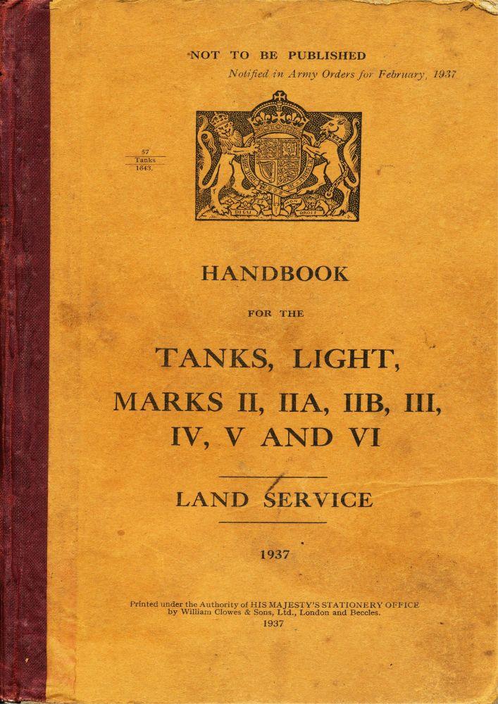 Light Tank Mk II-VI Handbook