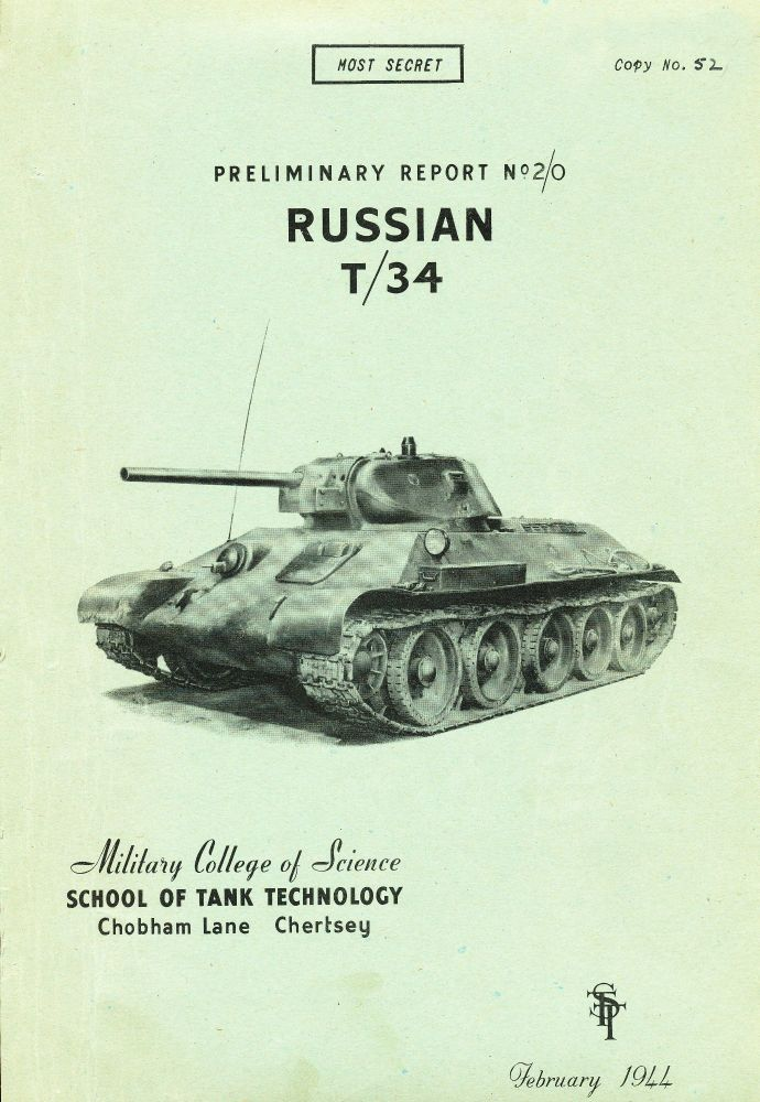 T-34 STT Preliminary Report 2/0