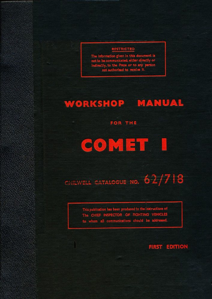 Comet I Workshop Manual