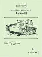 Panzer III School of Tank Technology Report No 5