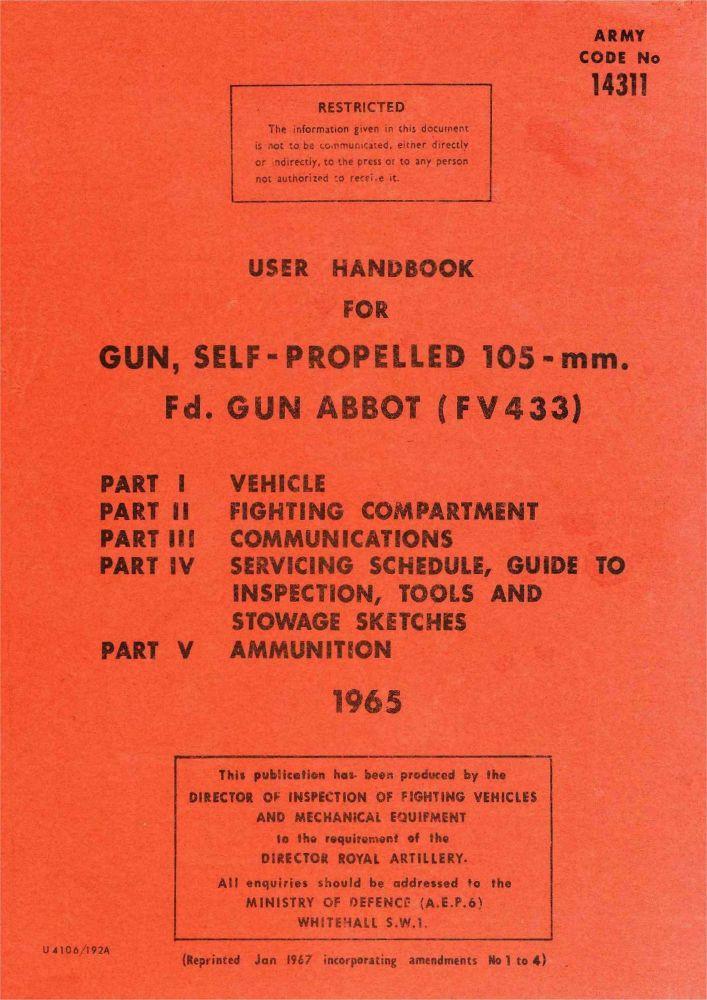 FV433 Abbot 105mm User Handbook