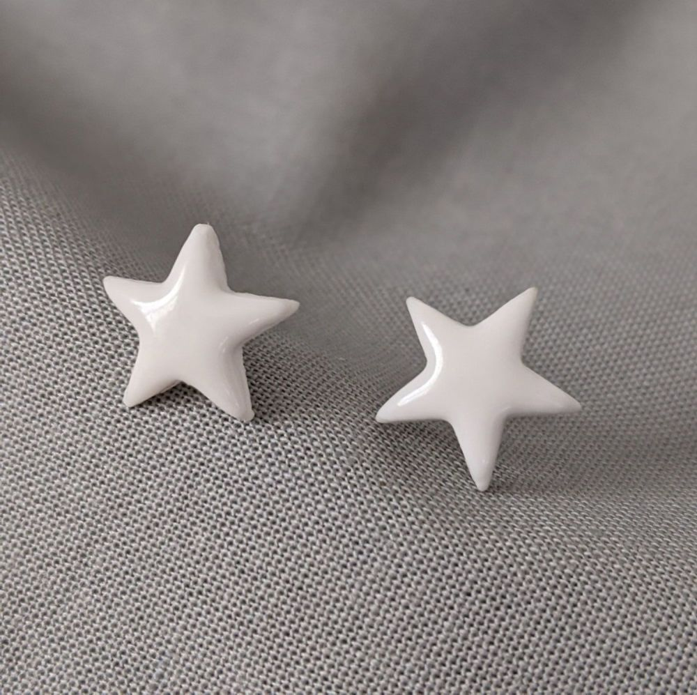 Pure Star Stud Earrings | Small