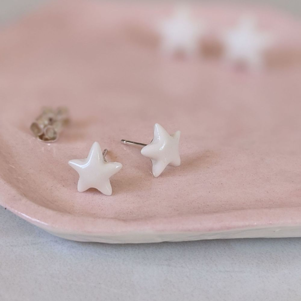 Chloe Star Stud Earrings | Extra Small