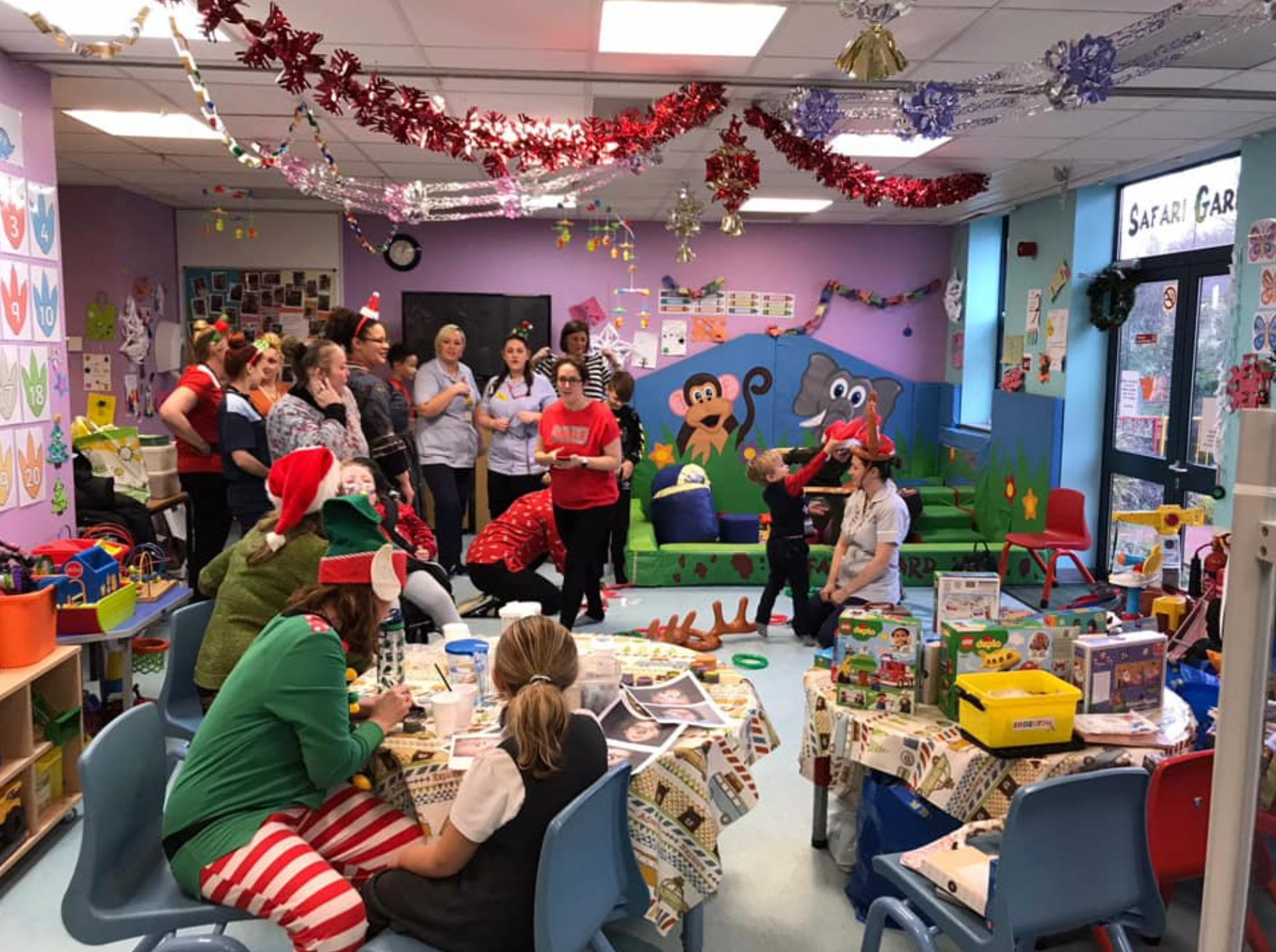 QE Safari Ward Christmas Party 2019