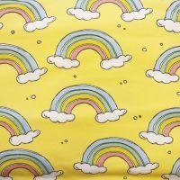 Lemon Rainbow, Organic Cotton Custom Panties