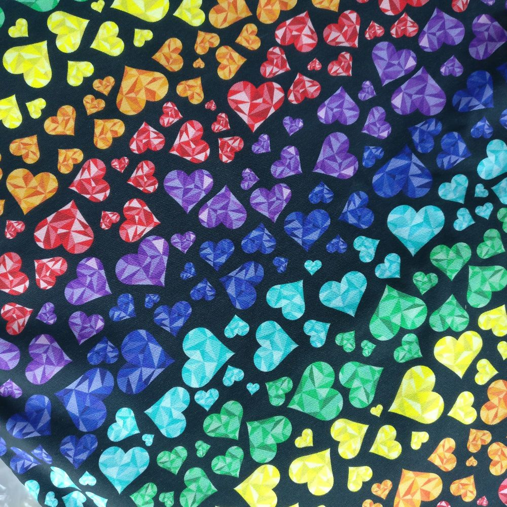Geo Hearts, Custom Panties