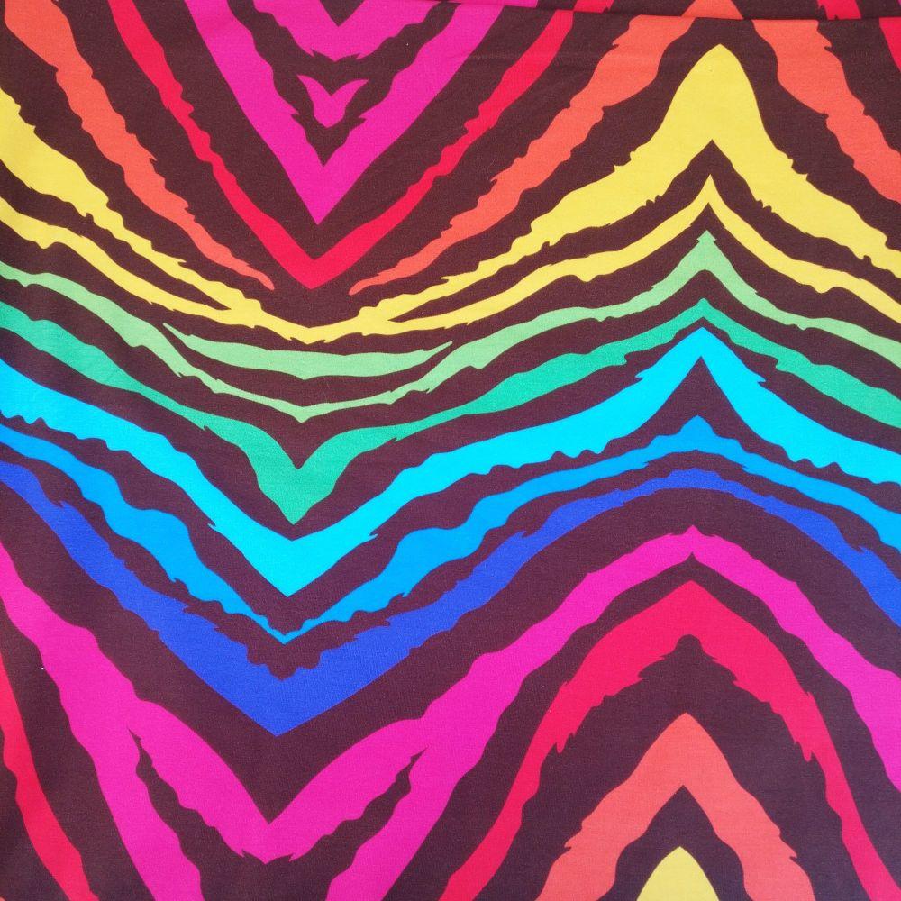 Rainbow tiger stripe, Custom Panties