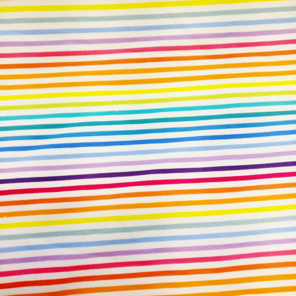 Rainbow Pinstripe, Custom Panties
