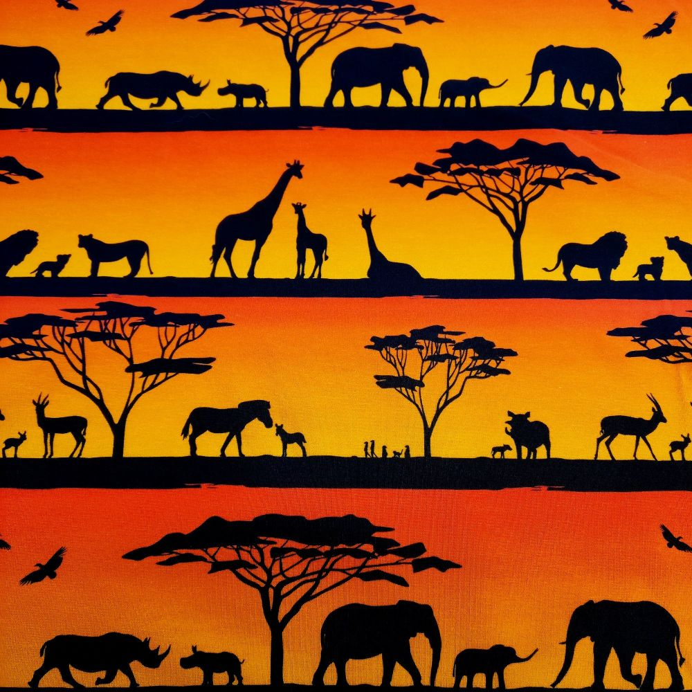 Serengeti Sunset, Custom Panties