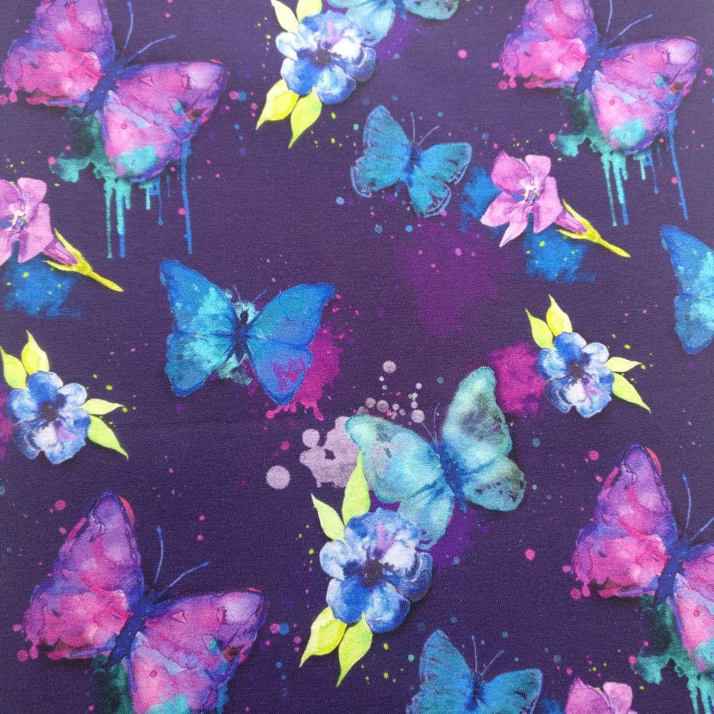Purple butterfly, Custom Panties