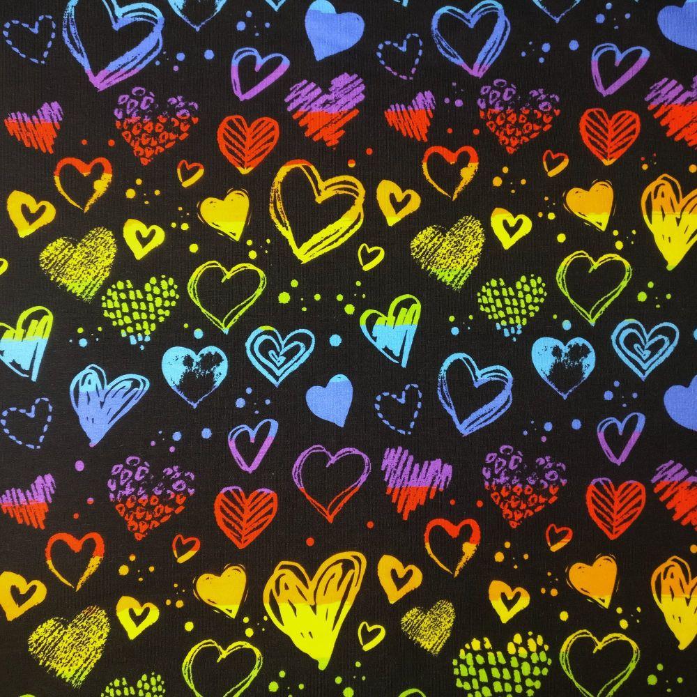 Rainbow Hearts, Custom Panties