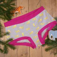 Little Leopard, Organic Cotton Custom Panties