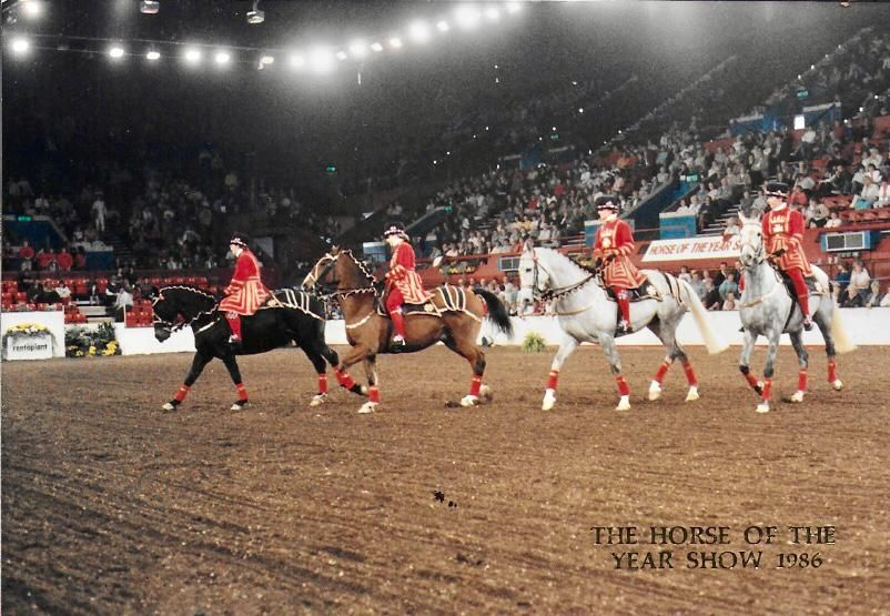 Rearsby Team at HOYS