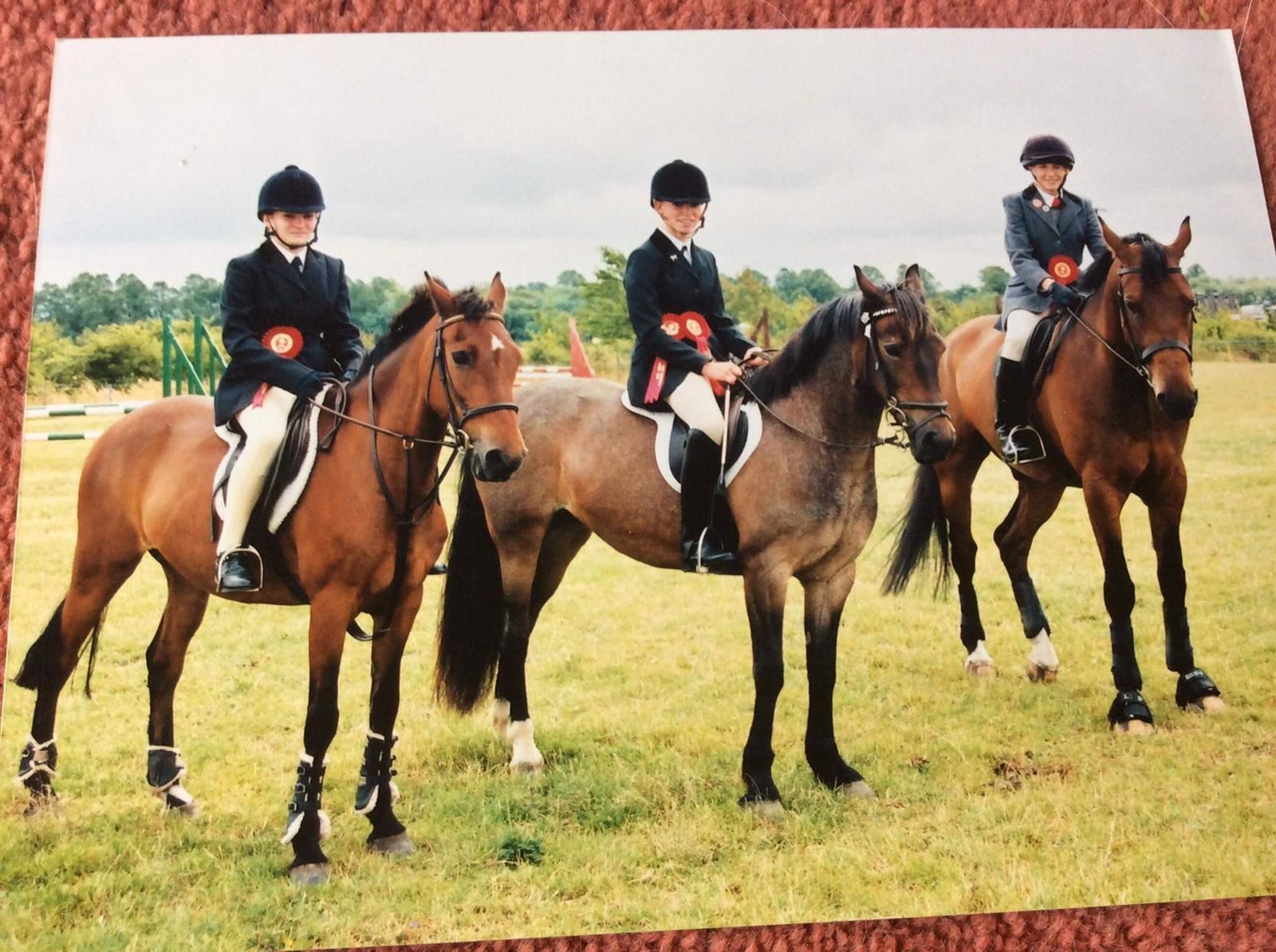 Showjumping team