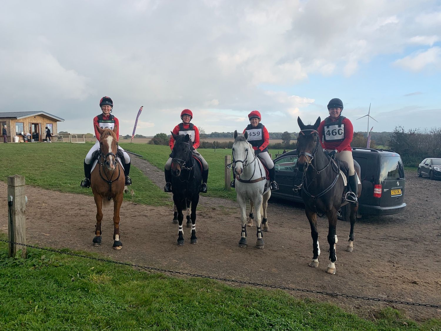 Arena Eventing Team at Speetley