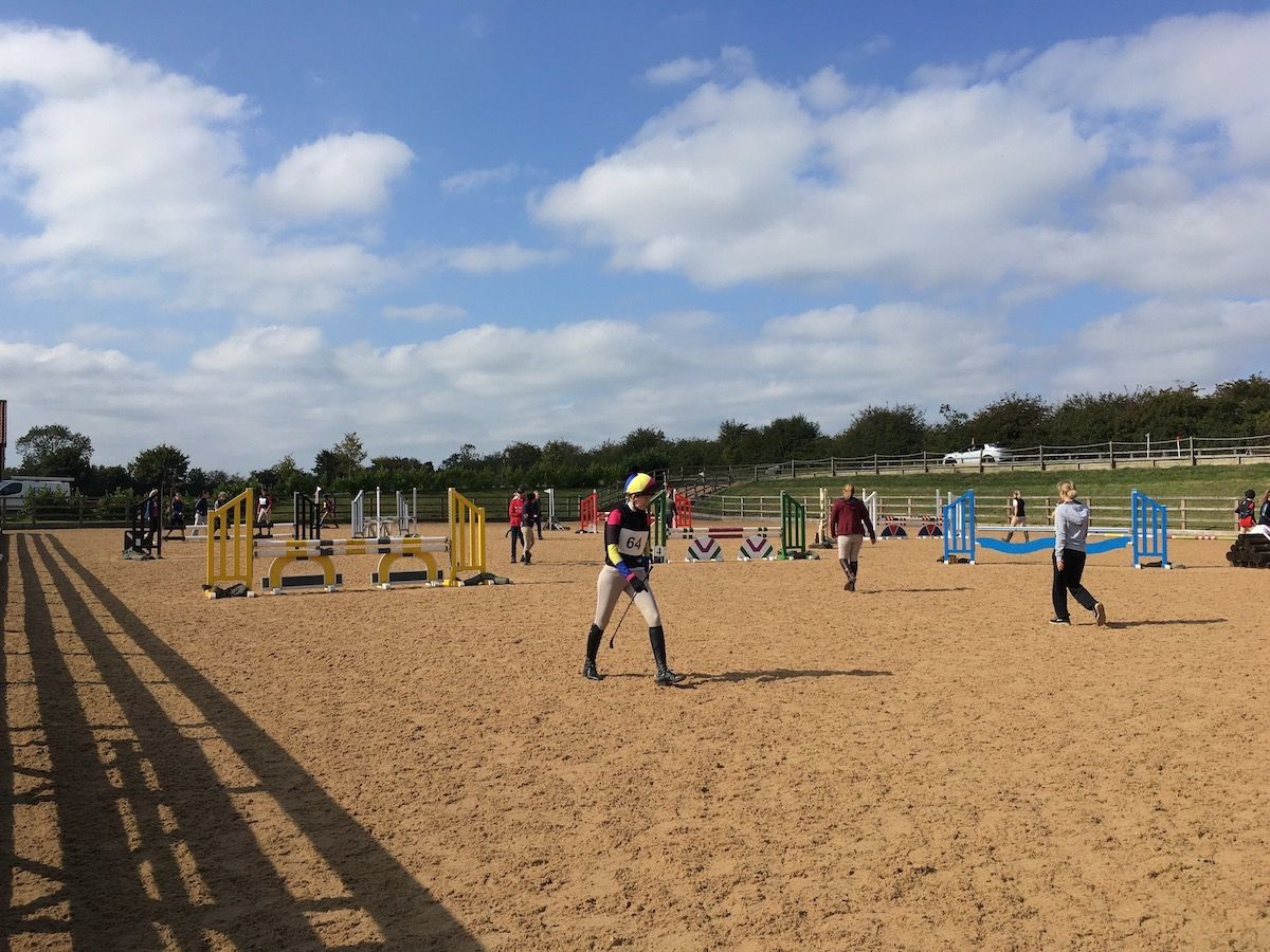 Course Walking Arena Eventing