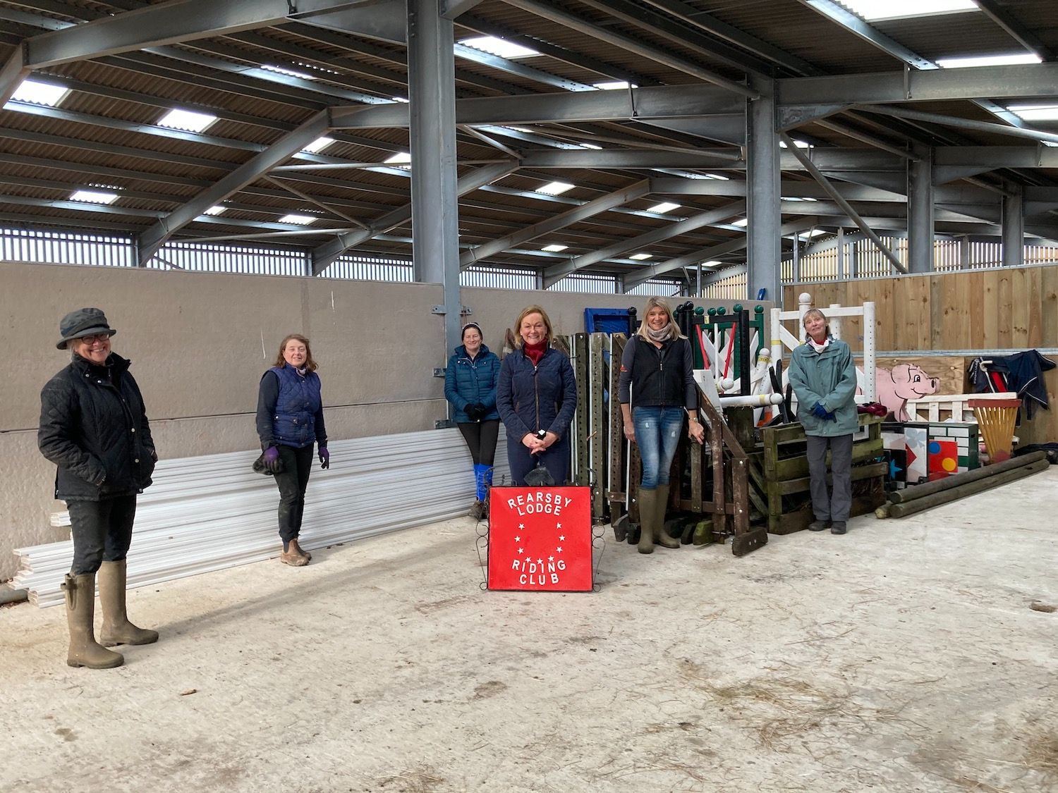 Rearsby Lodge Jumps in Storage