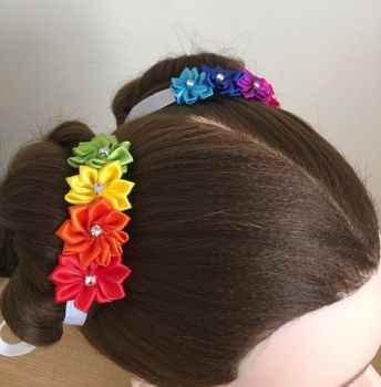 RAINBOW space buns side 2